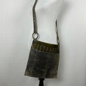 Brave Leather Distresses Cross bag